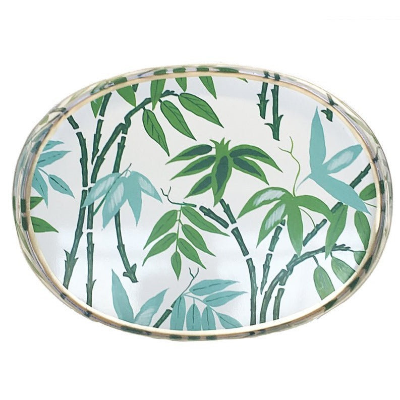 Fontaine Green Oval Tray