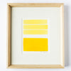 "Yellow Commission #1 & #2 7"" x 9"" - Framed"