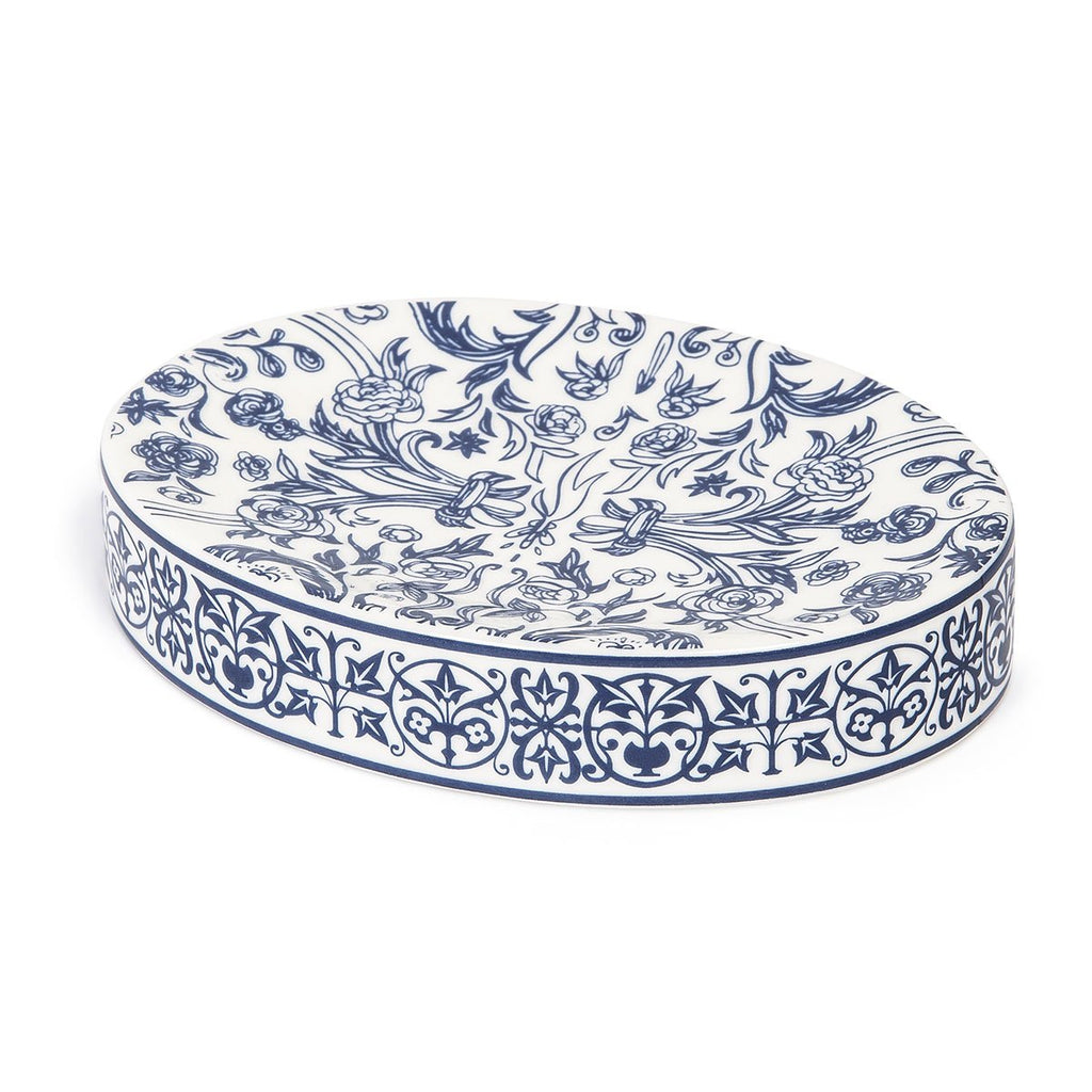 Orsay Blue Bath Soap Dish