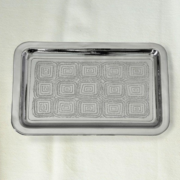 Kai Small Nickel Plated Brass Tray