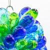 Blue, Green & Turquoise Handblown Glass