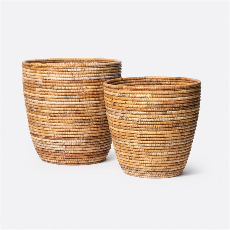 Rattan Round Basket - Small