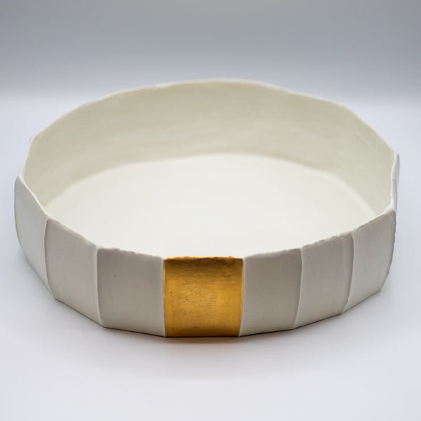 Ninfea Low Gold Insert Bowl