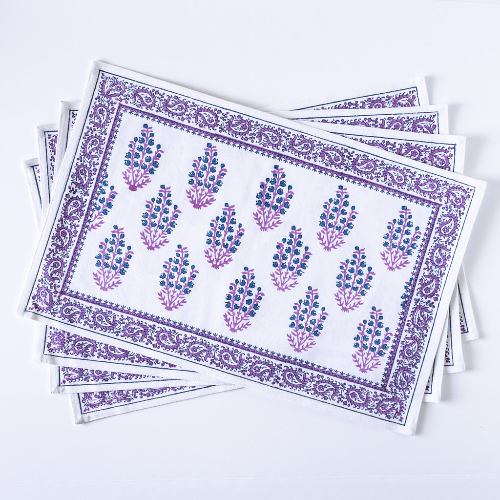 Modern Blues Placemats