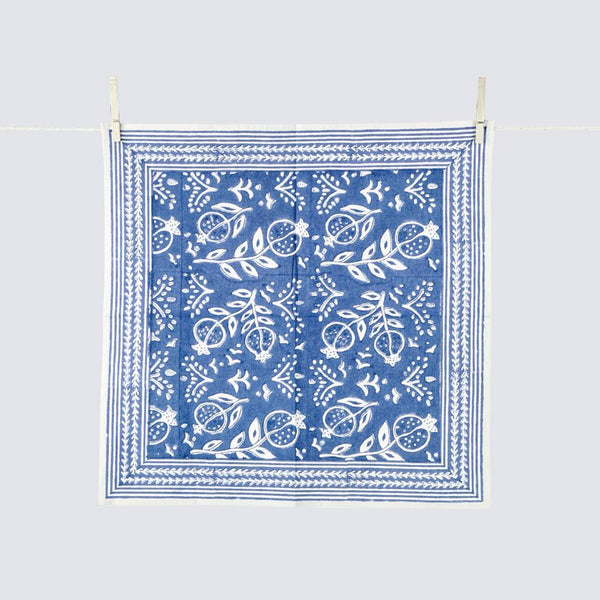 Pomegranate Blue Napkins