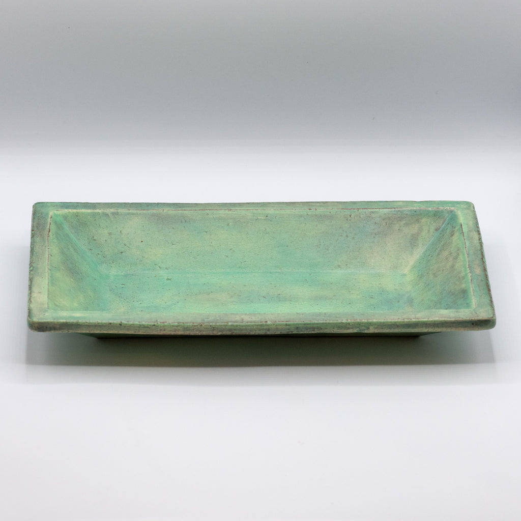 Turquoise Rectangle Tray