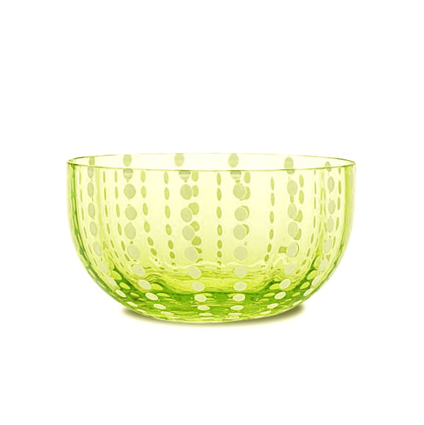 Perle Small Bowl - Apple Green