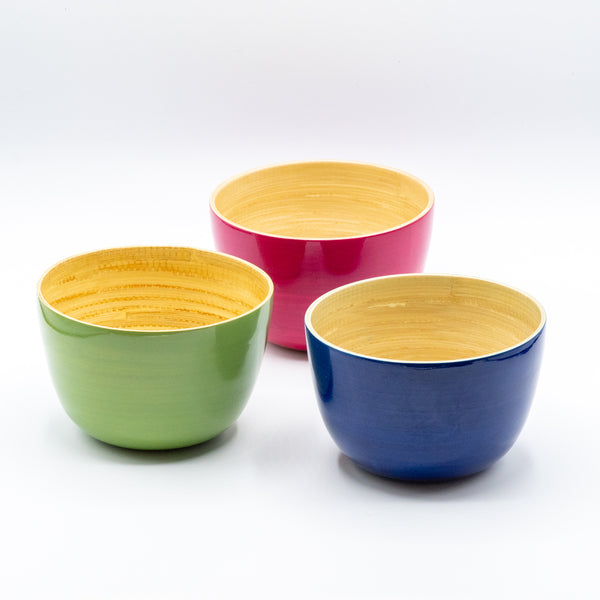 Mini Nut Bamboo Bowl