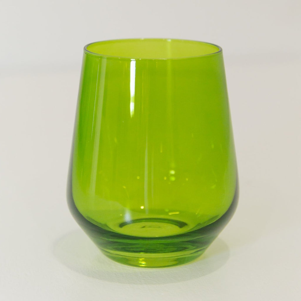 Estelle Colored Wine Stemless Glass