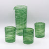 Double Old Fashioned Glassware -Gaffer Green