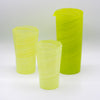 Octagonal Tall Glassware -Apple