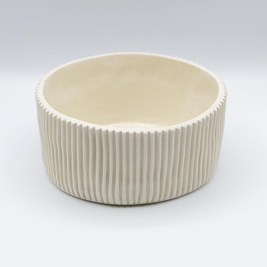 Small White Serving Bowl