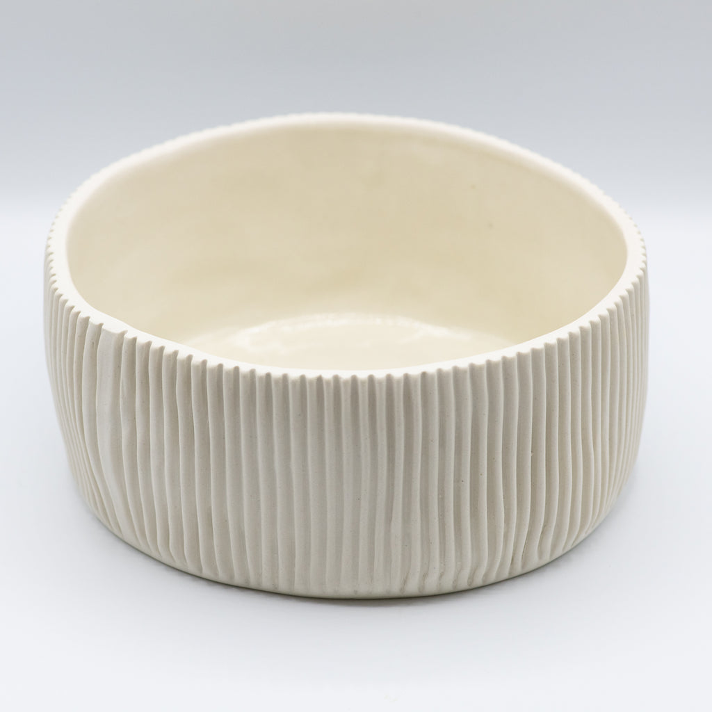 Medium White Serving Bowl