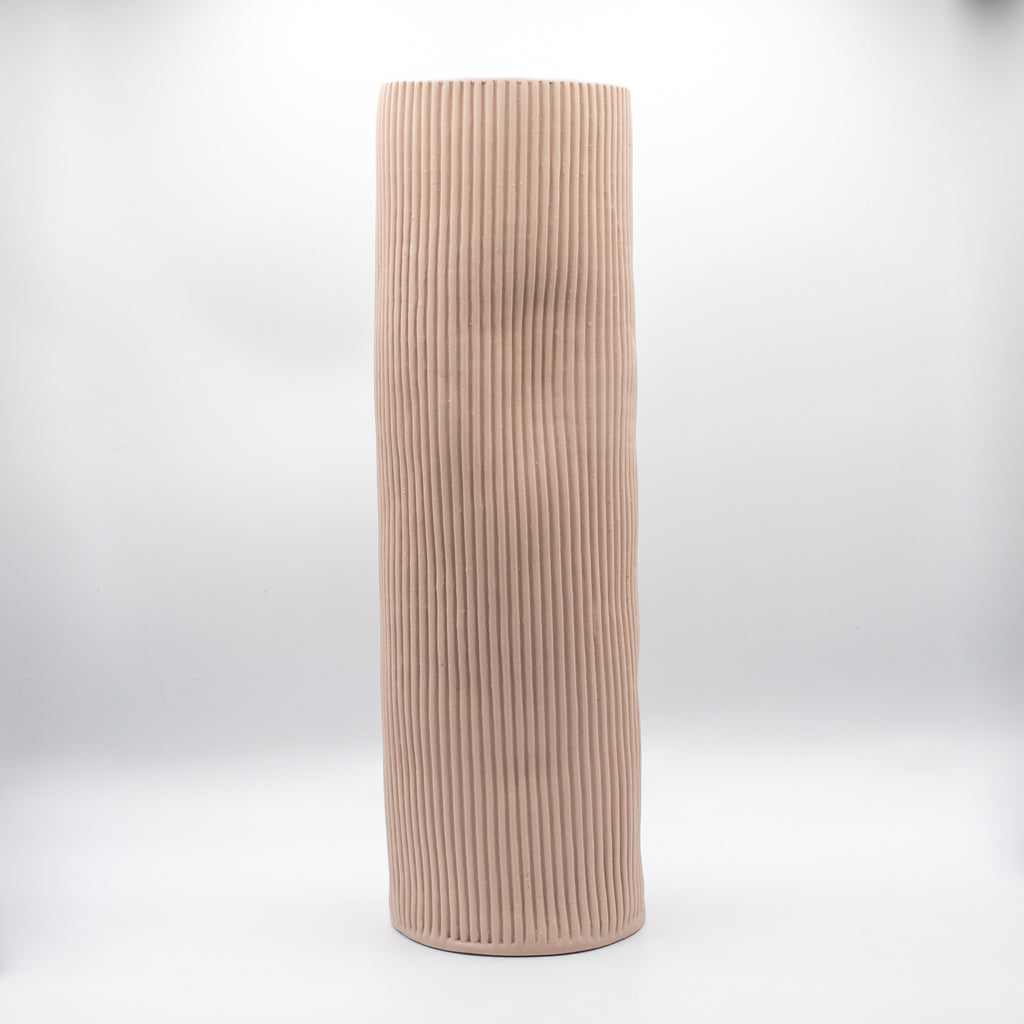 XL Cylinder Blush Vessel