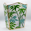 Fontaine Green Wastebasket