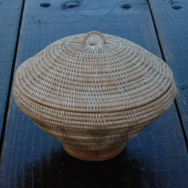 Beehive Basket w/ Cover