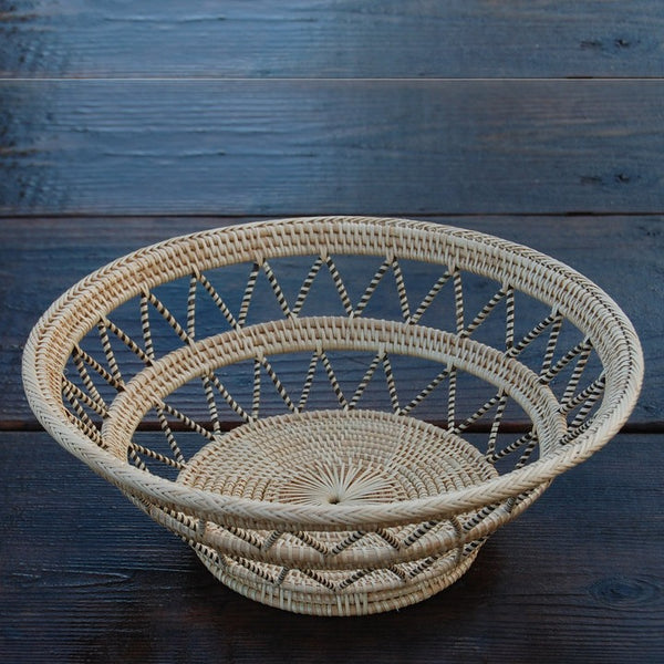 Round Fruit Basket Bowl