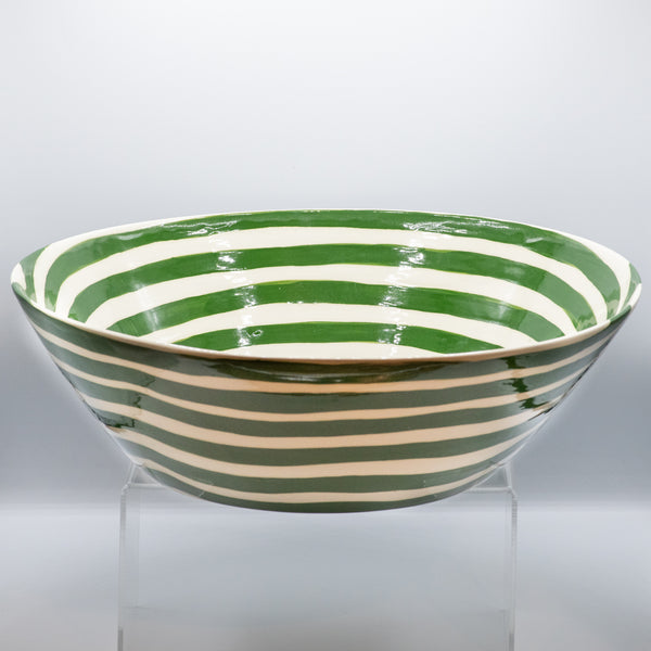 DT Basin Bowl -Contour in Green