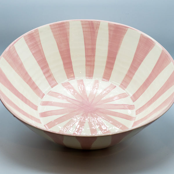 DT Basin Bowl -Spokes in Pink