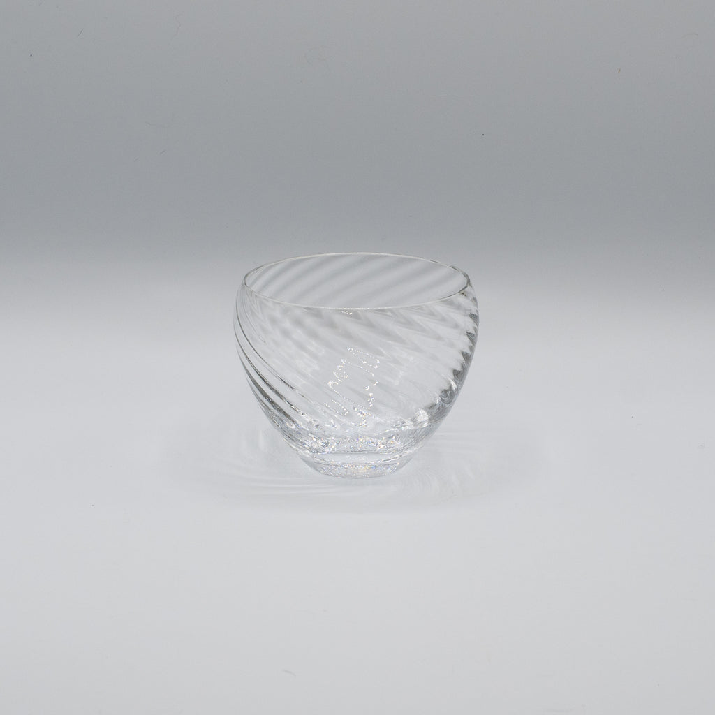 Arc Glass, Diagonal Swirl