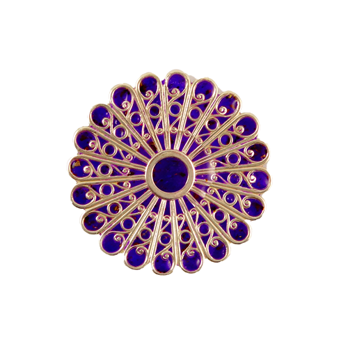 Verbena Brooch | Wright Keepsakes and Jewelry