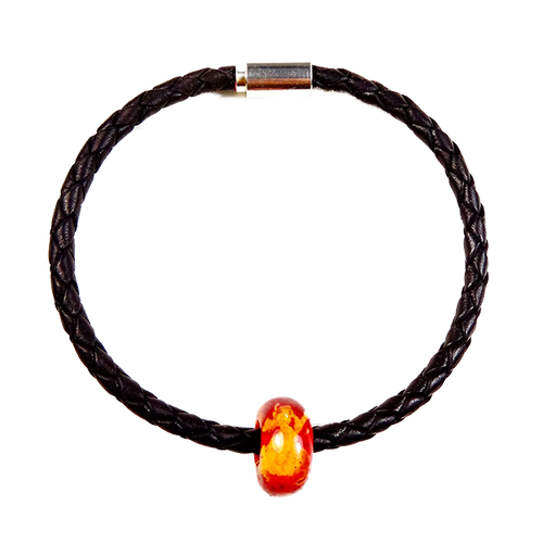 Graham Thomas Braided Leather Bracelet