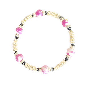 Pristine Marbleized Swirl Bracelet | Wright Keepsakes and Jewelry