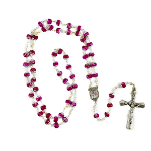 Lilac Rosary | Wright Keepsakes and Jewelry