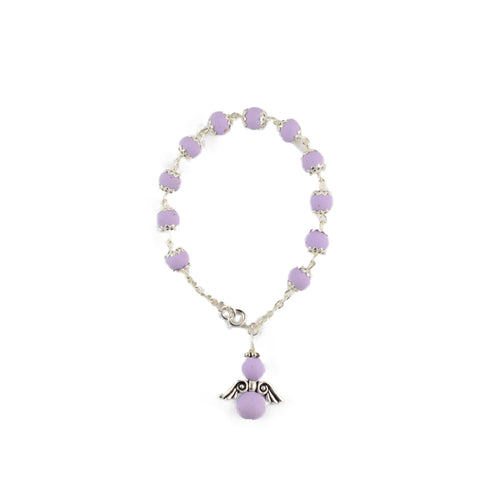 Everlasting angel bracelet