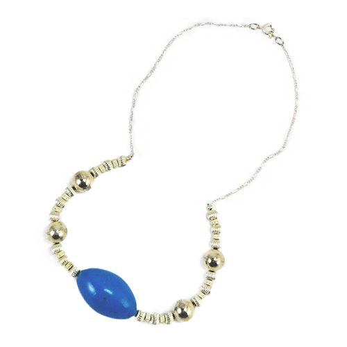 Hermina Oval Bead Necklace | Wright Keepsakes and Jewelry