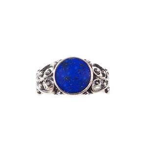 Margie Sterling Silver Ring - Front View