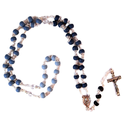 Gardenia Tri Color Rosary | Wright Keepsakes and Jewelry