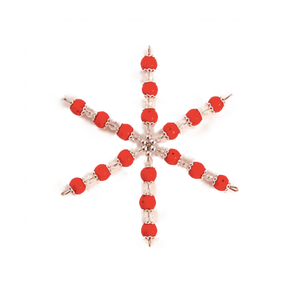 Hyacinths Small Snowflake Ornament | Wright Keepsakes and Jewelry