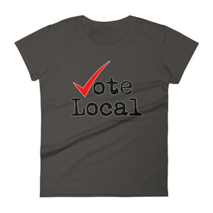 Women's Vote Local short sleeve