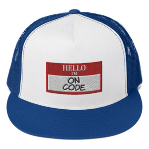 Hello Trucker Cap