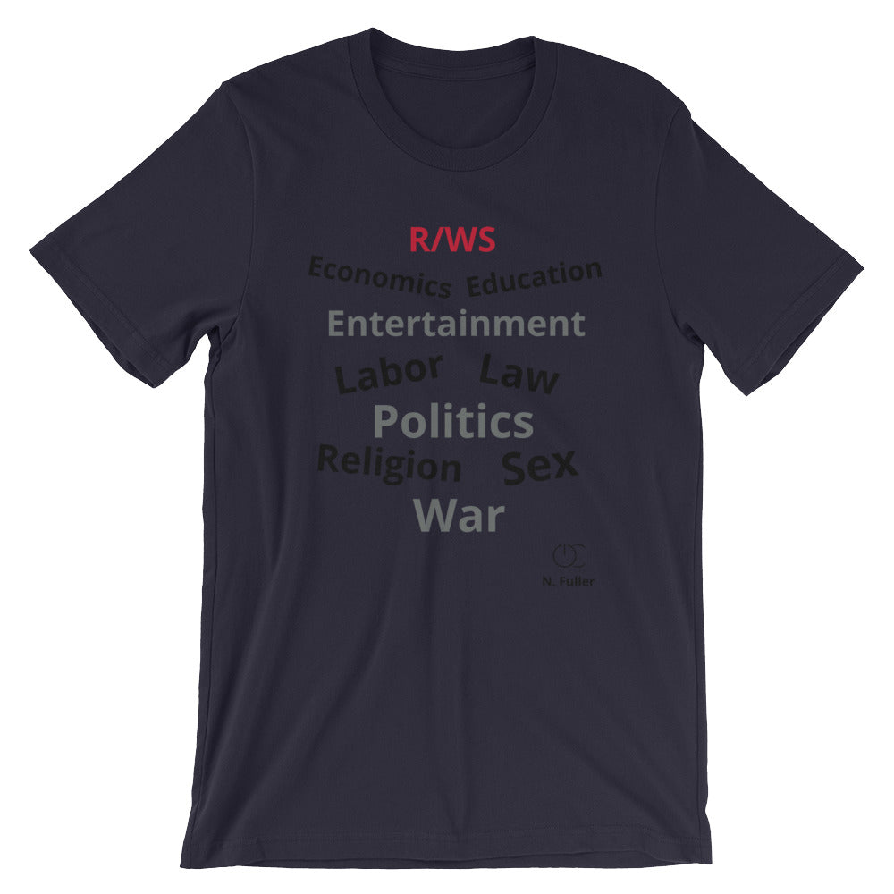 R/WS Short-Sleeve Unisex T-Shirt