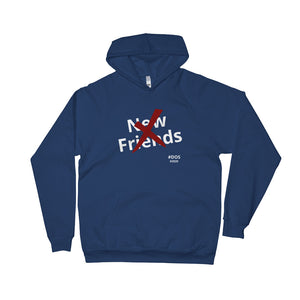 No New Friends Unisex Fleece Hoodie