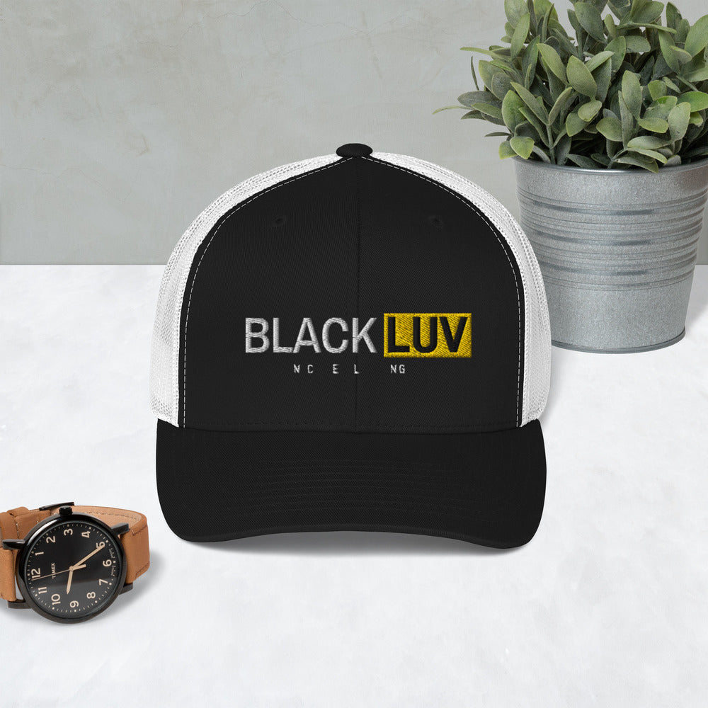 BLACK LUV Trucker Cap