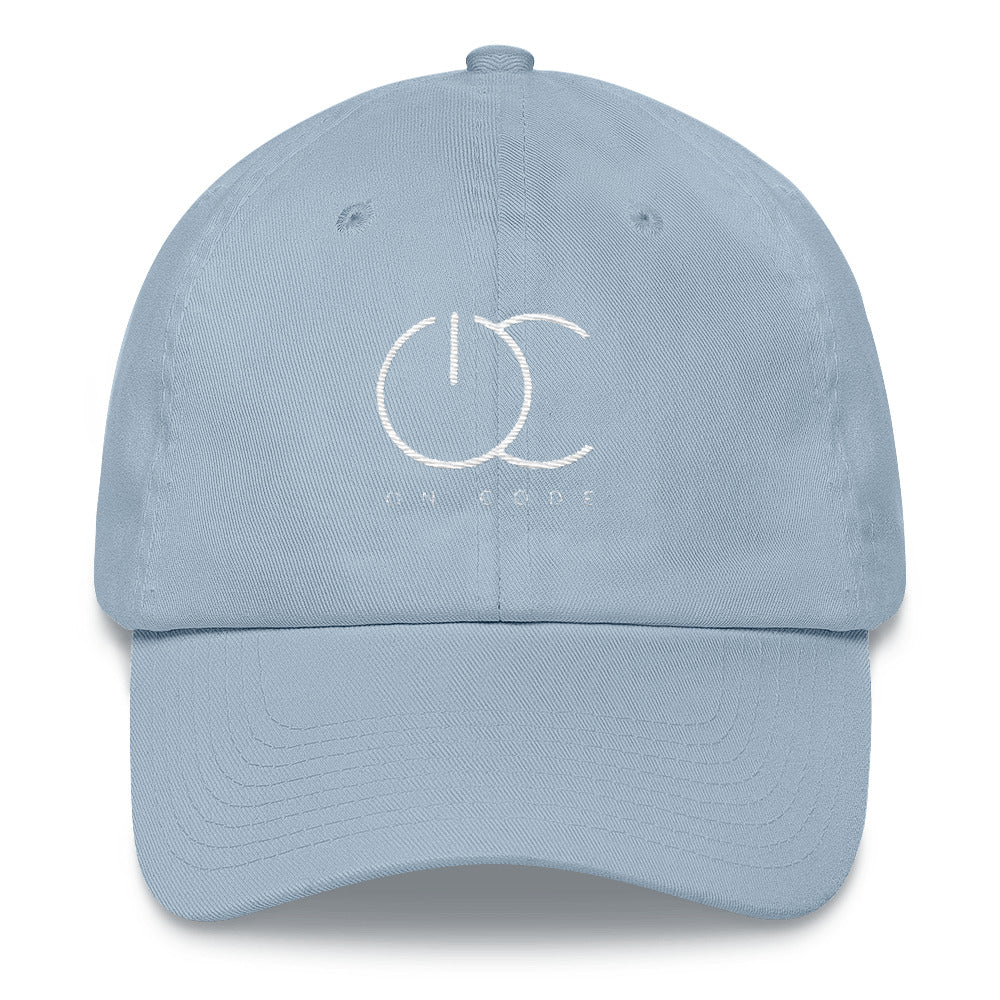 On Code Dad hat