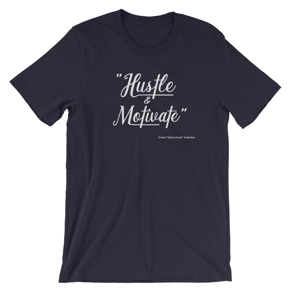 Hustle Motivate Unisex T-Shirt