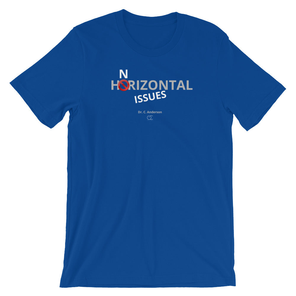 Horizontal Issues Short-Sleeve Unisex T-Shirt