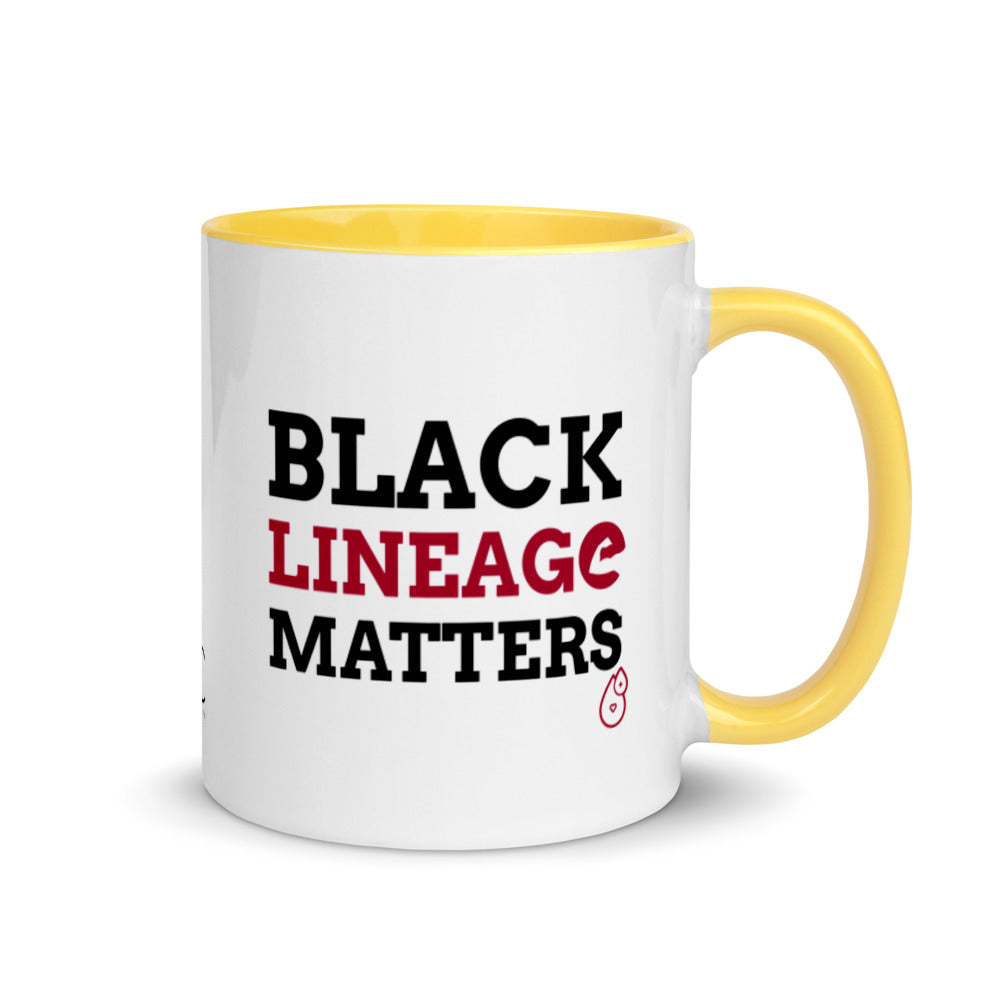 Black Lineage Color Mugs