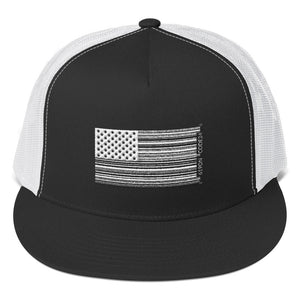 1619 Bar Code Trucker Cap