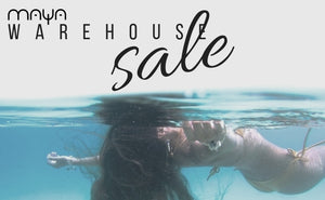 Maya Swimwear warehouse sale, super prices for our popular bikini
