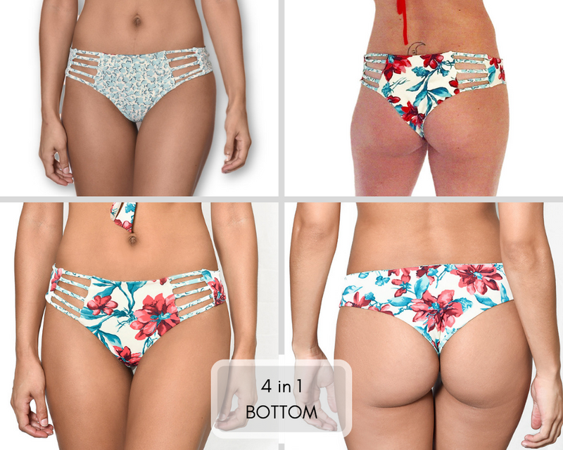 Reversible Bikini Bottom by Maya Swimwear