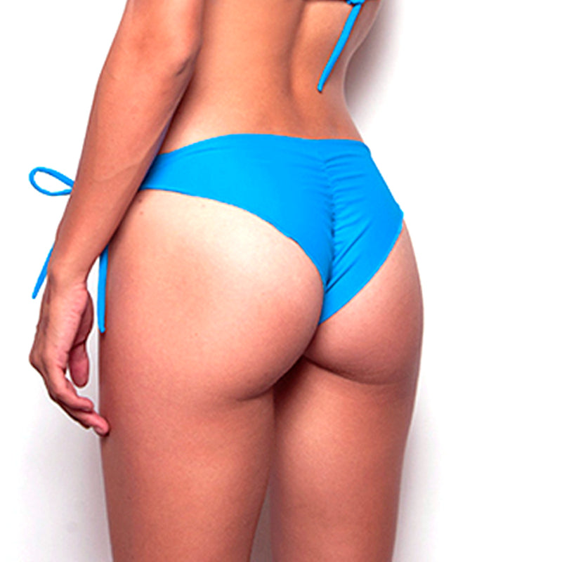 Heavenly Blue Signature Tie Side Bottom