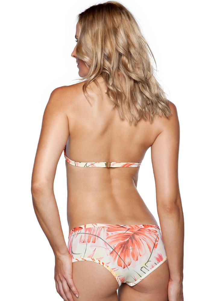 SAMANA ORANGE Full Coverage BIKINI Bottom | Maya Swimwear