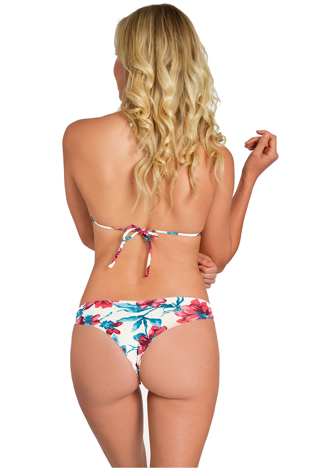 Amazon Flower Less Coverage Signature Bikini