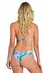 AMAZON FLOWER Scrunch Thong Bikini Bottom