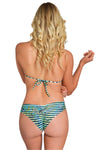BLUE JAGUAR Reversible Strapped Bikini Bottom